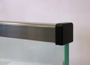 Glaskant skydd glas